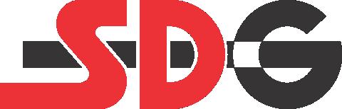 SDG logo trumpas be fono